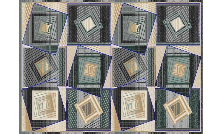 Rugs & Carpets (C) - C040A-ANTRACITE