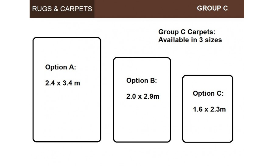Rugs & Carpets (C) - C328A-D/GRAY