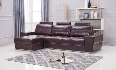 Reserve Leather Sofa Lounge Set