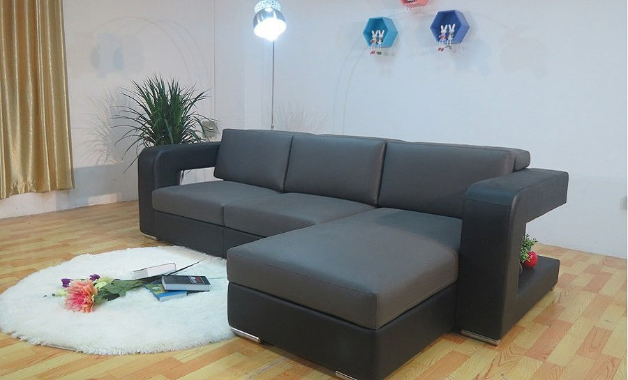 Logesh - Leather Sofa Lounge Set