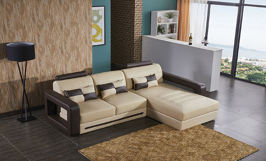 Ikari - 2sC - Leather Sofa Lounge Set