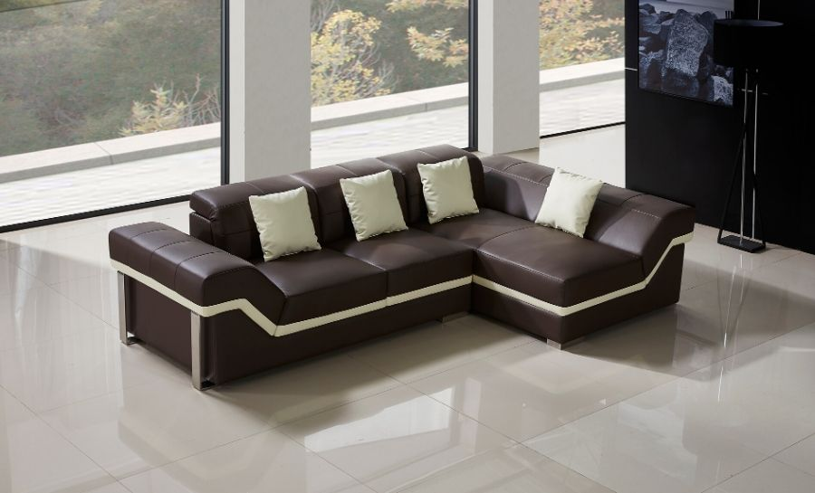 Beatrix - 2sC - Leather Sofa Lounge Set