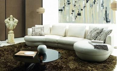Jona Leather Sofa Lounge Set Customisable Leather Sofa