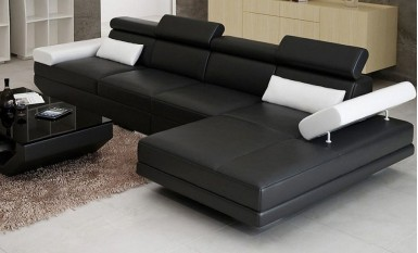 Gwen - 3SC - Leather Sofa Lounge Set