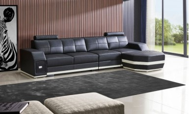 Emma - 3SC Leather Sofa Lounge Set