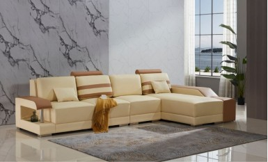 Tessie - 3sC - Leather Sofa Lounge Set