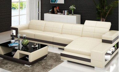 Kevlar-3sC- Leather Sofa Lounge Set