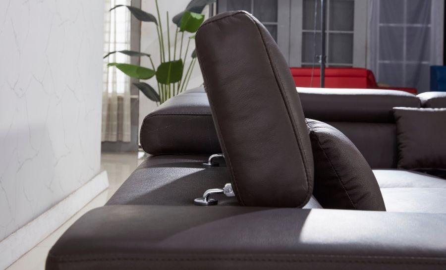 Vienna - L2 - Leather Sofa Lounge Set