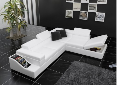 Vienna - L2 - Leather Sofa Lounge Set