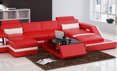 Selvatore - 3sC - Leather Sofa Lounge