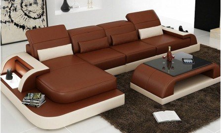 Orion - 3sC - Leather Sofa Lounge Set