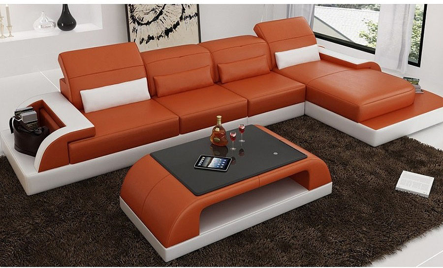 Orion 3sc Leather Sofa Lounge Set Customisable