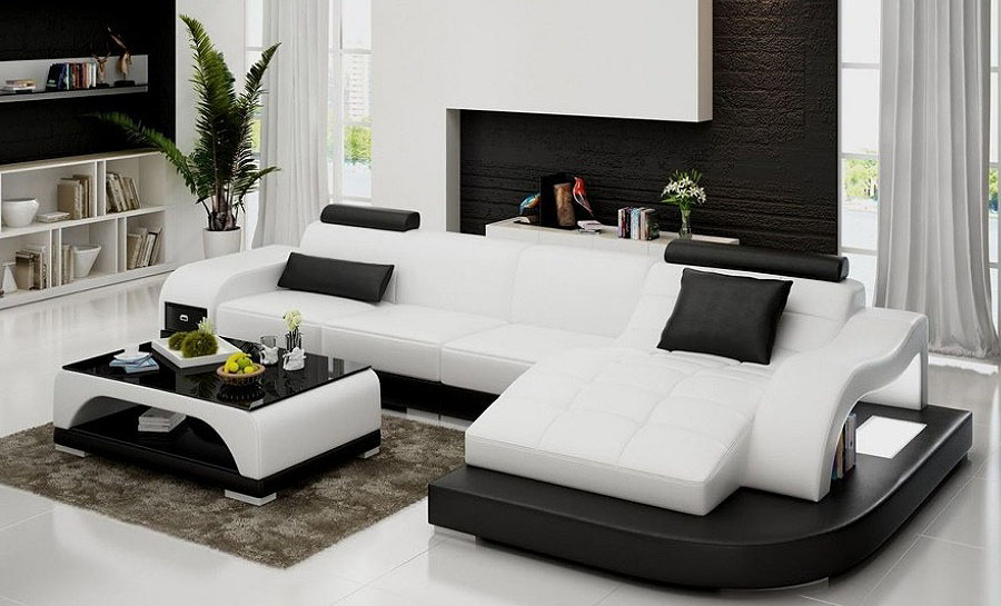 Horus - Leather Sofa Lounge Set