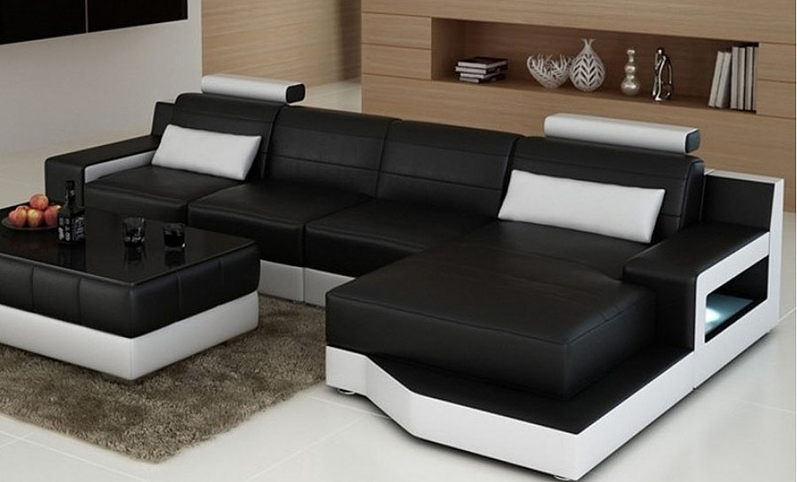 Brussel - Leather Sofa Lounge Set