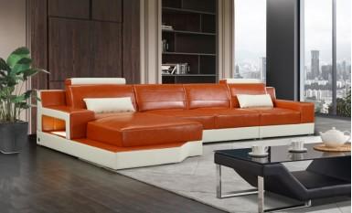 Brussel - Leather Sofa Lounge Set