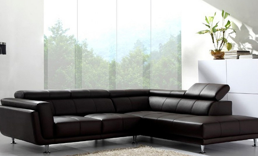 Kingston Leather Sofa Lounge Set