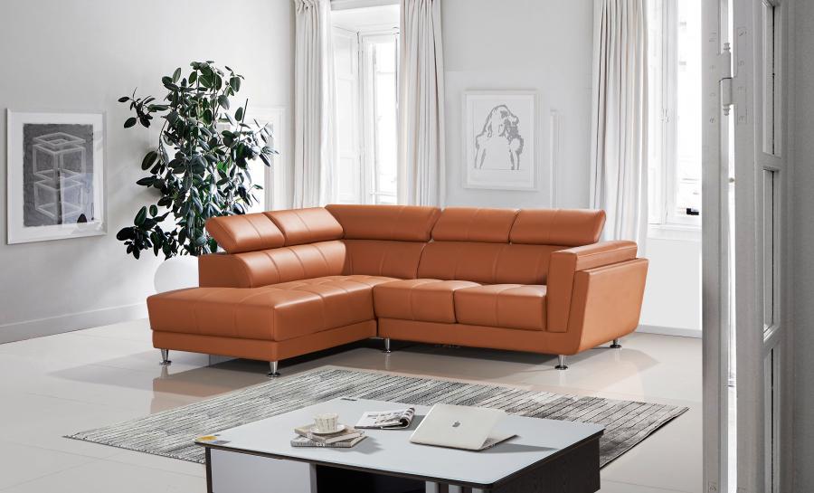Kingston Leather Sofa Lounge Set