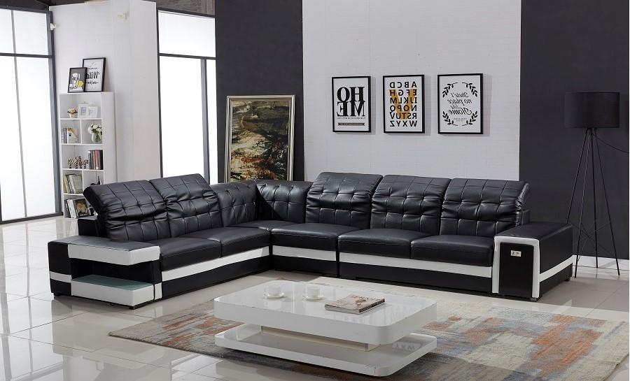 Batilda Leather Sofa Lounge Set