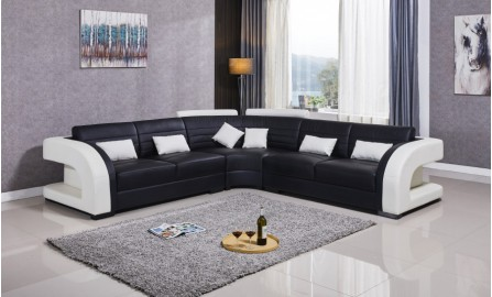 Umbra - L - Leather Sofa Lounge Set