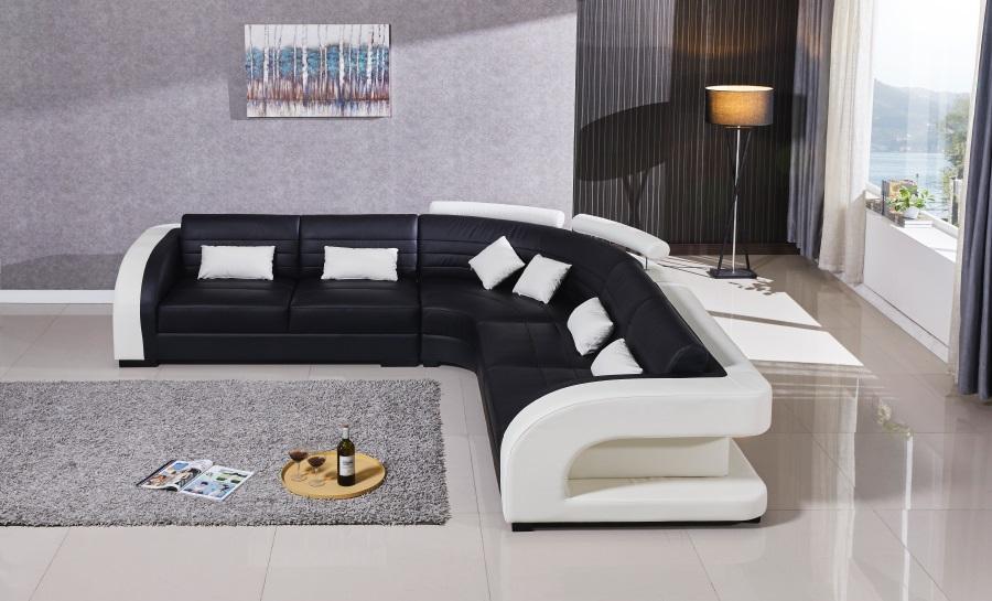 Umbra - L - Leather Sofa Lounge Set