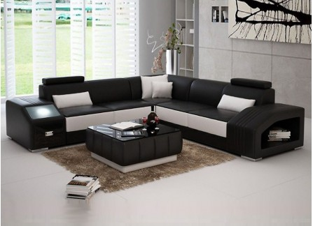 Envie Leather Sofa Lounge Set