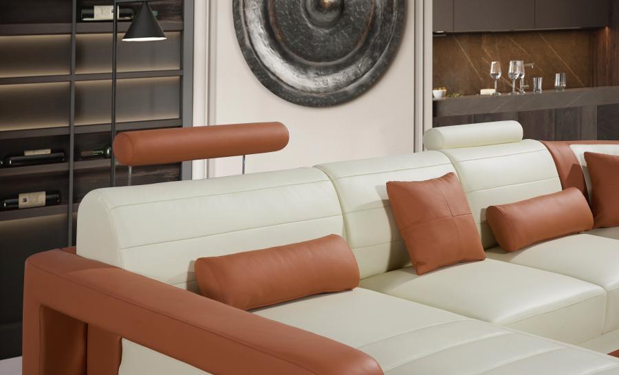 Ikari - U - Leather Sofa Lounge Set
