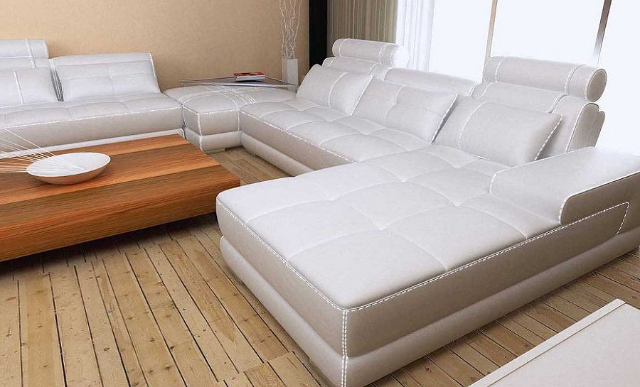 Diva Leather Sofa Lounge Set