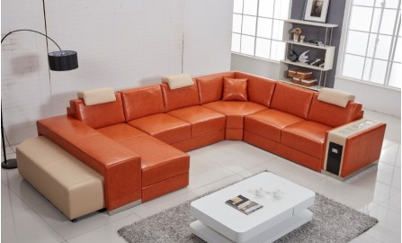 Leather Sofas - Customisable Leather Sofa at Desired Living