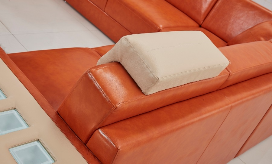 Adra - U1 - Leather Sofa Lounge Set