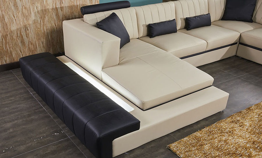 Loraine Leather Sofa Lounge Set