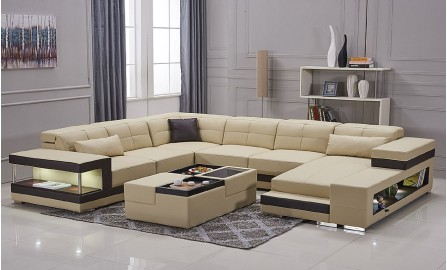 Kevlar - U1 - Leather Lounge Set