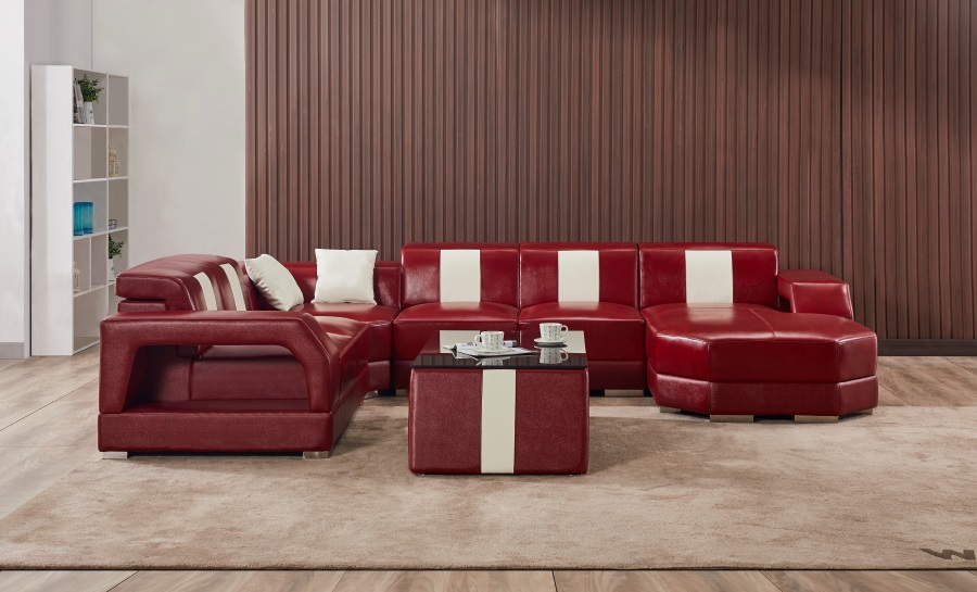 Inada Leather Sofa Lounge Set