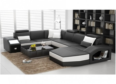 Faber Leather Sofa Lounge Set