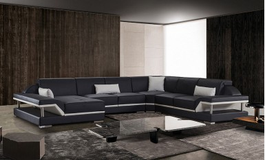 Nexus - U1 - Leather Sofa Lounge Set