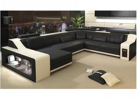 Victus Leather Sofa Lounge Set