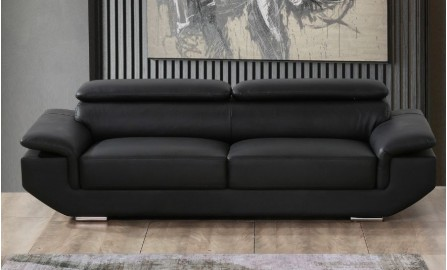 Kenny 3 Seater Leather Sofa