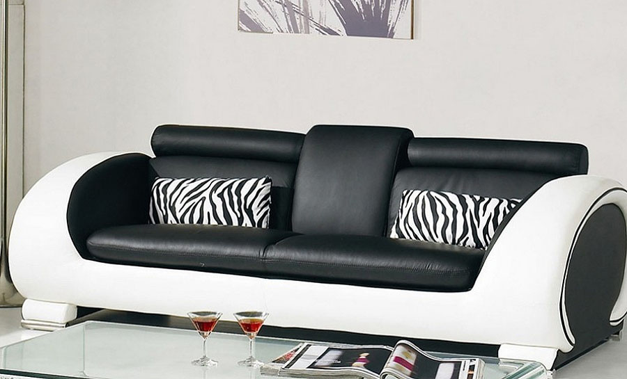 Opal Leather Sofa Lounge Set