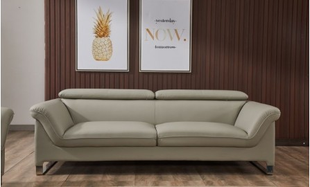 Floaty 3 Seater Leather Sofa