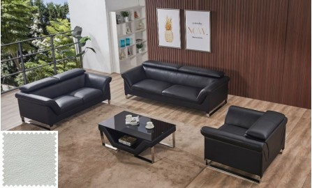 Floaty Leather Sofa Lounge Set (IN STOCK)