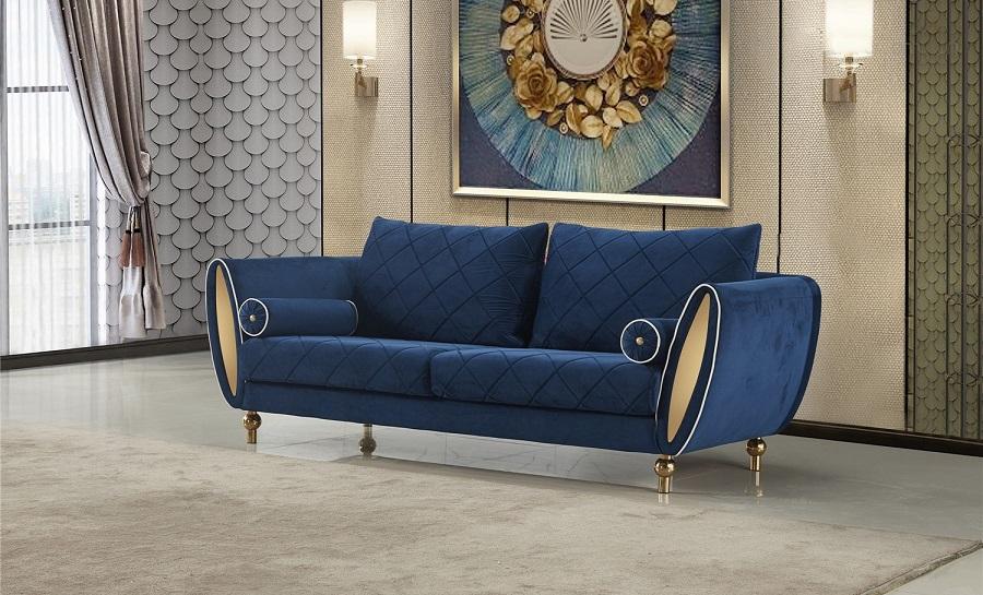 Jade 3 Seater Fabric Sofa