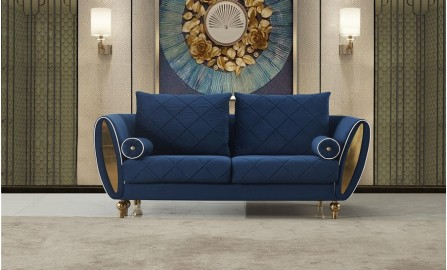 Jade 2 Seater Fabric Sofa