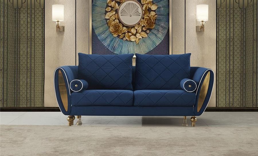 Jade 2 Seater Fabric Sofa