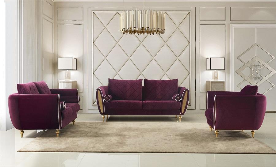 Jade Fabric Lounge Set