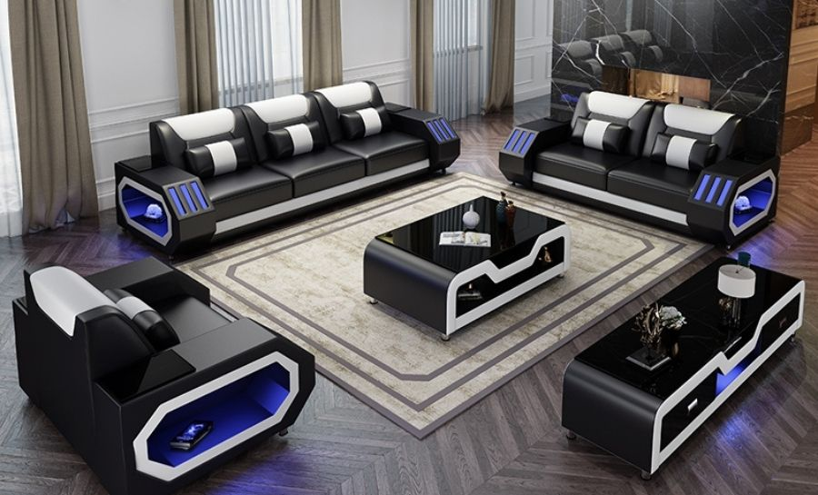 Explorer Leather Lounge Set