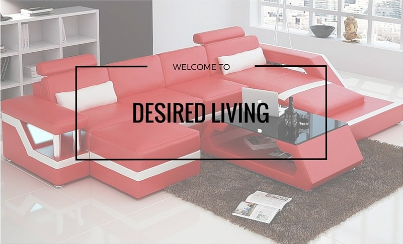 Leather Lounge (Newcastle) - Customisable Leather Sofa at Desired Living